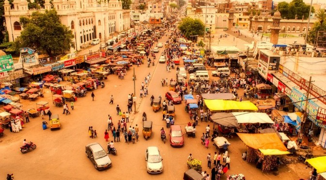 A person speaking from India on the ground – it's not quite like we're told
