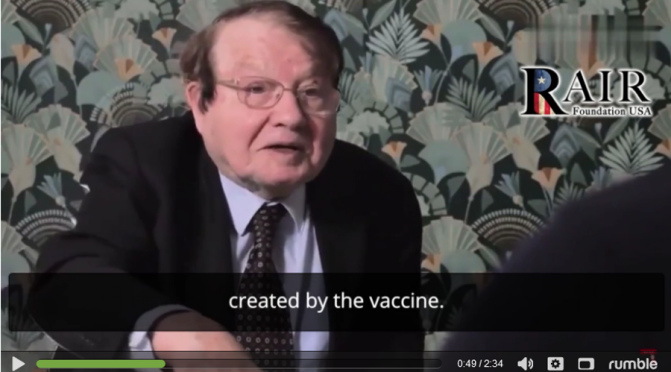 """French Nobel Prize Winning Virologist Professor: The COVID-19 Shots are Creating """"Variants"""""""