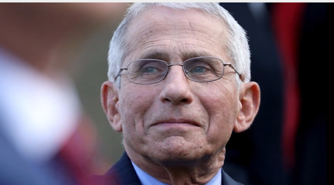 Is Fauci going down?