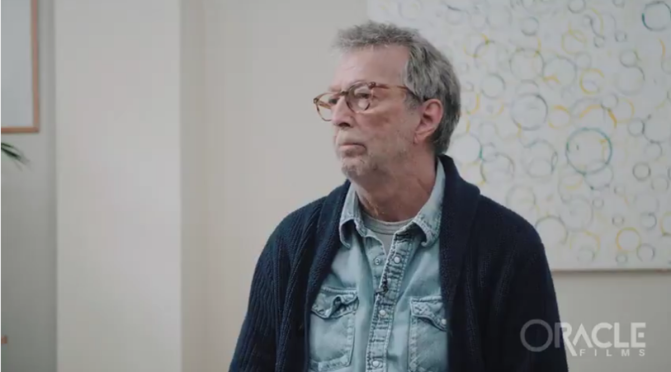 Eric Clapton speaks out