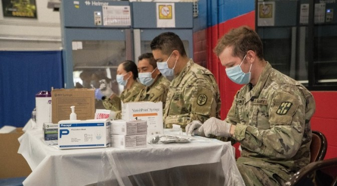 US: Prepare for mandatory COVID vaccines for service members in September, Army tells commands