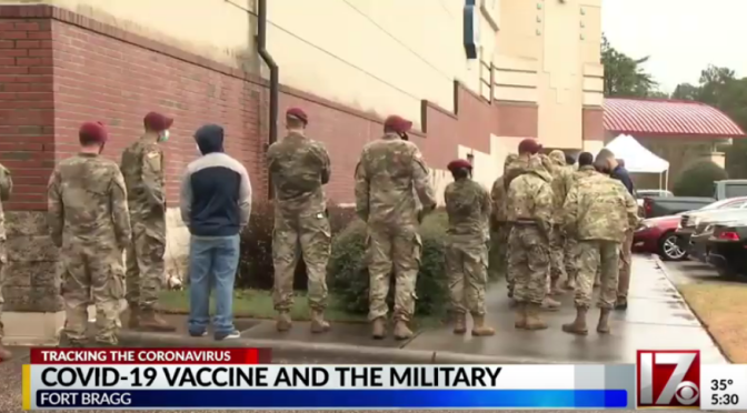 One third in US military are refusing the COVID-19 vaccine (according to mainstream)