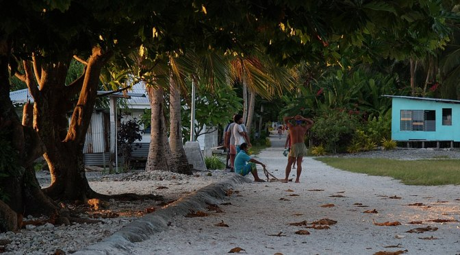 The remote & covid-free nation of Tokelau is rolling out the CV VX & citizens declining it risk house arrest & phone confiscation