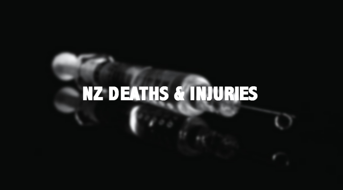 NZ: over 113 confirmed deaths, 2 per day on average … 100s injuries, heart attack, stroke, clots … important info on what you can do (citizens register)(Updated)