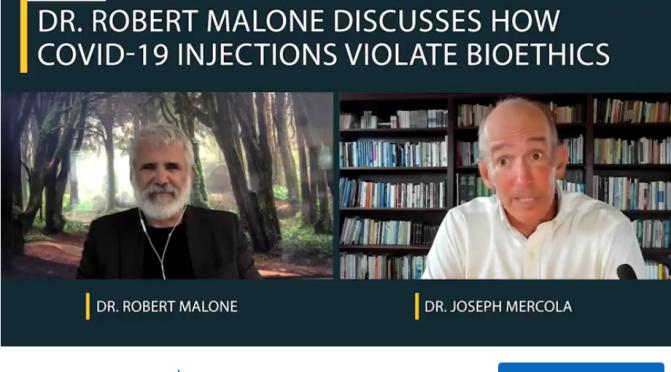 mRNA Inventor Shares Vaccine Bioethics Concerns (Mercola interview)