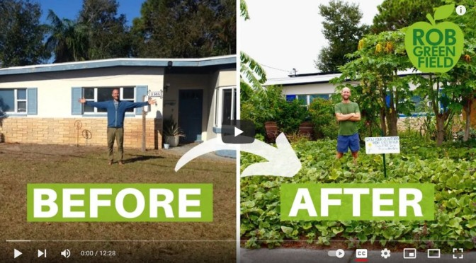 How to Turn Your Yard into a Garden   Grow Food Not Lawns